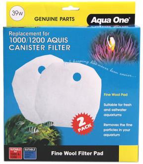 Aqua One Aquis 1000/1200 Wool Pad (2pk) 39w (25039w)
