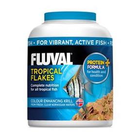Fluval Tropical Flakes 200ml/32g