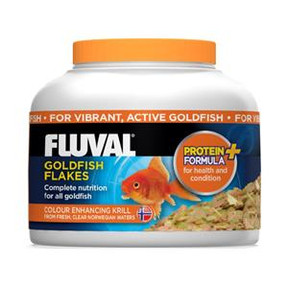 Fluval Goldfish Flakes 125ml/18gm