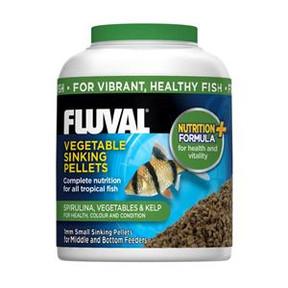 Fluval Vegetable Small Sinking Pellets 200ml/90gm