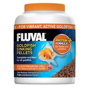 Fluval Goldfish Medium Sinking Pellets 325ml/150gm