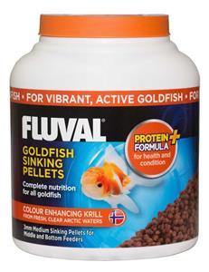 Fluval Goldfish Medium Sinking Pellets 750ml/340gm