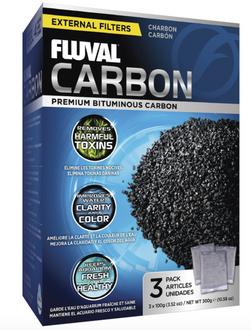 Fluval Filter Carbon 3x100gm