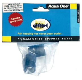 Aqua One Aquis 500/700 Adapter for Spray Bar (2pk) (10829)