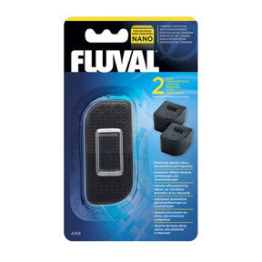 Fluval Nano Filter Carbon Cartridge (2pk)