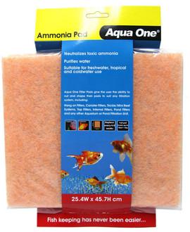 Aqua One Ammonia Pad - Self Cut Filter Pad (10459)