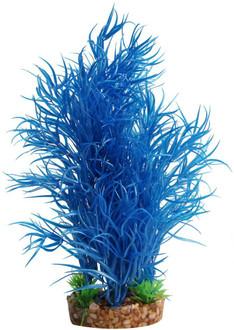 Aqua One Plastic Plant Blue Rotala W/Gravel Base - Large (28205)
