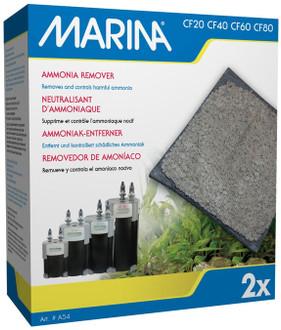 Marina CF20/40/60/80 Filter Ammonia Pack (2pk)