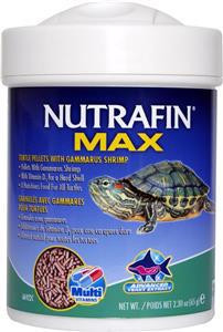 Nutrafin Turtle Pellets with Gammarus Shrimp 65gm