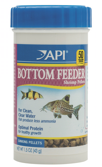 API Bottom Feeder Shrimp Pellets 43gm