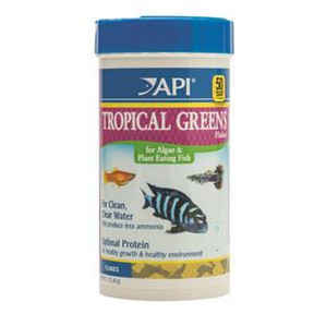 API Tropical Greens Flakes 60gm