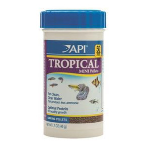 API Tropical Pellet Food (Mini) 48gm