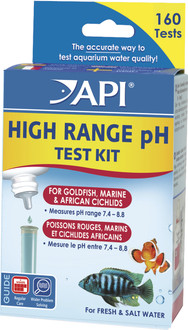 API pH High Range Test Kit - Fresh/Saltwater