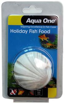 Aqua One Holiday Fish Food Block 40g (95005)