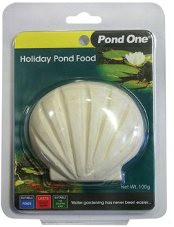 Pond One Holiday Fish Food Block 100g (95007)