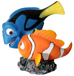 "Aqua One Blue Tang & Clown Fish ""Dory & Nemo"" Ornament (37167)"