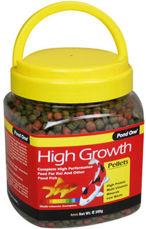 Pond One High Growth Pellet Food 4mm 380g (26550)