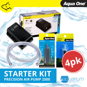 Aqua One Precision 2500 Air Pump Starter Kit (4pc)