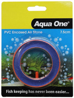 Aqua One Air Stone PVC Encased Beauty Round 7.5cm (10149)