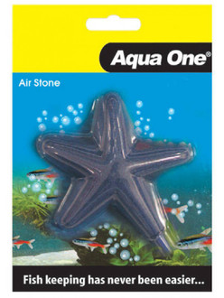 Aqua One Airstone Shaped Star Fish 8.5cm X 8.5cm Medium (10352)