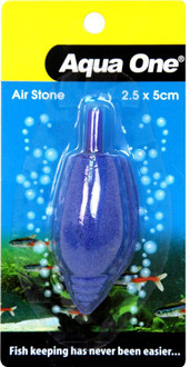 Aqua One Airstone Shaped Cone Shell 2.5cm X 5cm Small (10353)