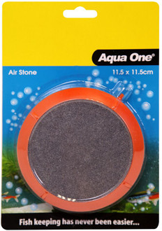Aqua One Airstone PVC Encased Air Disk Large 11.5cm (14045)