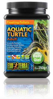 Exo Terra Aquatic Turtle Food Adult Floating Pellets - 250 gm (PT3254)