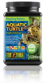 Exo Terra Aquatic Turtle Food Hatchling Floating Pellets - 300 gm (PT3244)