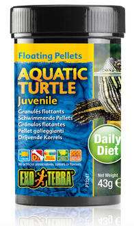 Exo Terra Aquatic Turtle Food Juvenile - 43gm (PT3247)