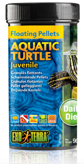 Exo Terra Aquatic Turtle Food Juvenile - 90gm (PT3248)