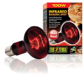 Exo Terra Heat Glo Infrared Heat Lamp - 100 Watt (PT2144)