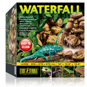 Exo Terra Pebble Waterfall Unit - Large (includes Pump) (PT2914)