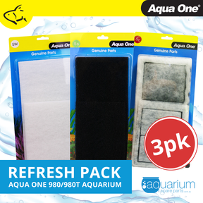 Aqua One AquaStyle 980/980T Refresh Pack inc 5s, 5w & 5c (3pk)