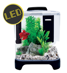 Aqua One Betta Haven LED Acrylic Aquarium 7L (56299)