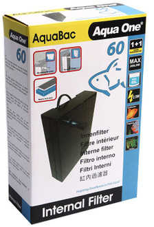 Aqua One AquaBac 60 Internal Filter - 200l/hr (11341)