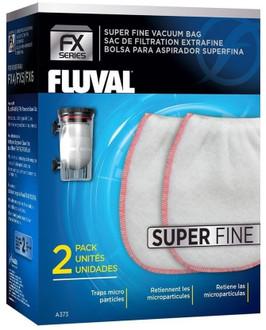 Fluval FX4/FX6 Gravel Cleaner Kit Vacuum Bag- Super Fine 2pk