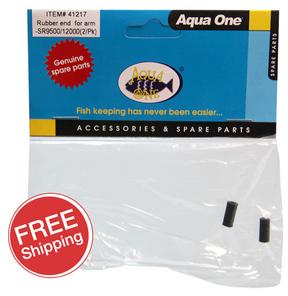 Aqua One Precision 9500/12000 & Infinity 750/950 Rubber End 2pk (41217)