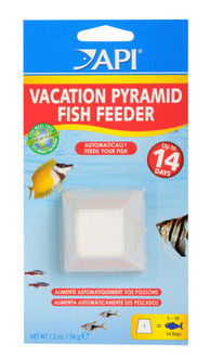 API Vacation Pyramid Fish Feeder