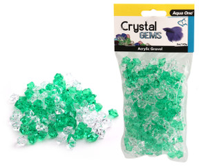 Aqua One Crystal Gems Acrylic Gravel Lucky Charm 145gm (12304)