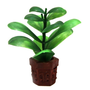 Aqua One Betta Pot Plant Green Ornament 10cm (24328)