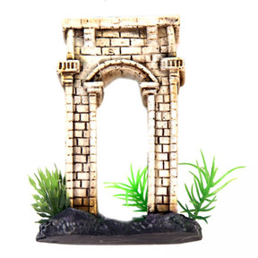 Aqua One Betta Square Column Arch Ornament 10cm (24338)