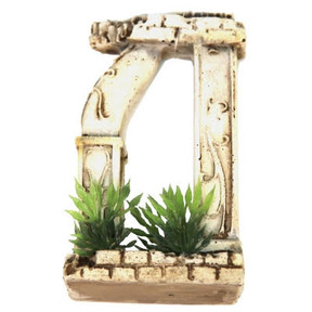 Aqua One Betta Square/Round Column Arch Ornament 10cm (24339)