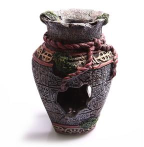 Aqua One Broken Aztec Vase Ornament - Small (36755)