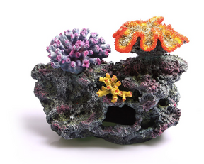 Aqua One 3 Corals on Live Rock Ornament - Large (36877)