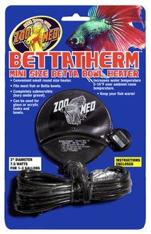 Zoo Med BettaTherm Mini Size Betta Bowl Heater