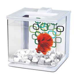 Marina Betta EZ Care Aquarium 2.5L - White