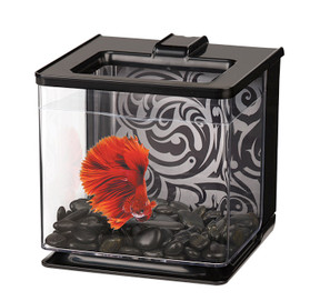 Marina Betta EZ Care Aquarium 2.5L - Black