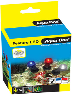 Aqua One Submersible Feature LED Replacement Lamp - White (20101)
