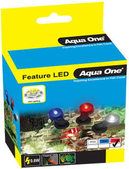 Aqua One Submersible Feature LED Replacement Lamp - Red (20106)
