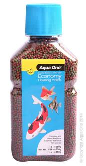 Aqua One Economy Pellets 2mm 350g (11589)